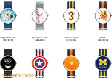 Tự thiết kế đồng hồ cho chính mình tại sao không?