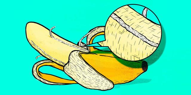 """Không được bỏ """"Những sợi dây"""" tơ mỏng manh khi ăn chuối"""