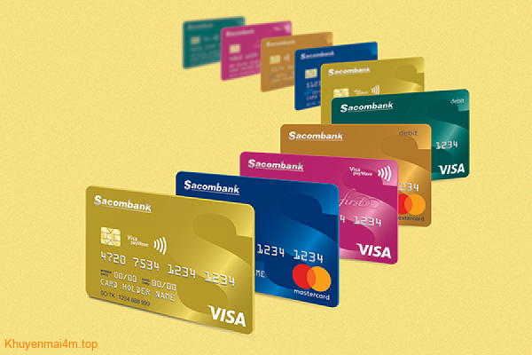 Điều kiện và thủ tục đăng ký làm thẻ tín dụng Sacombank - 2