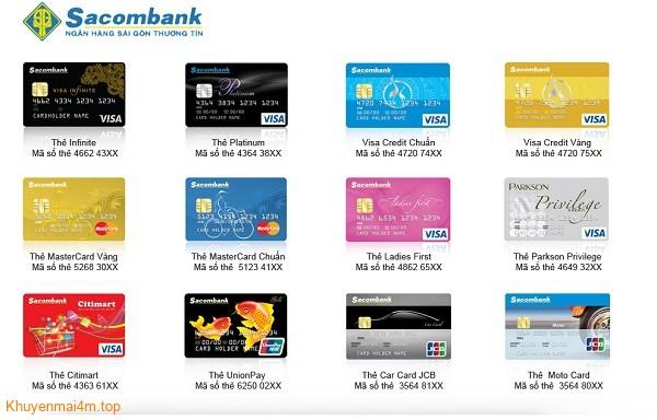 Điều kiện và thủ tục đăng ký làm thẻ tín dụng Sacombank- 1