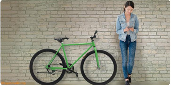 Thanh toán tối thiểu 3 triệu để nhận xe đạp thời trang