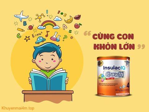 INSULAC IQ GROWTH cung con khon lon