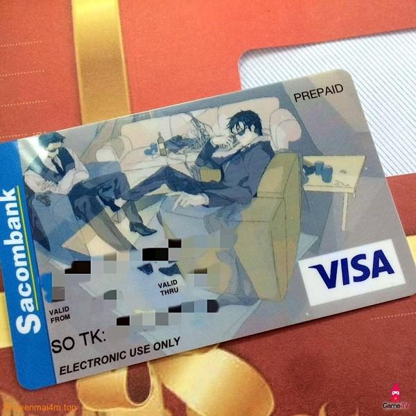 Sacombank cho phép in hình bất kỳ lên thẻ tín dụng - 2