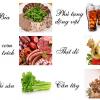 Những điều cần lưu ý về ăn uống khi điều trị bệnh gout