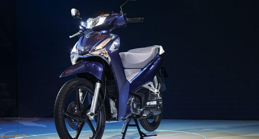 Diện mạo mới của Ông vua đường trường - Honda Future 2018!