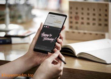 Fan Galaxy Note8 hẳn phải tự hào vì những đặc quyền của riêng mình