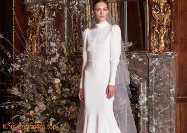 Những kiểu váy cưới hứa hẹn gây sốt năm 2018