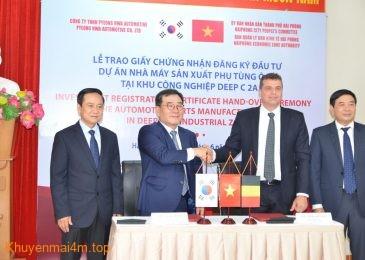 Việt Nam – Nơi sản xuất linh kiện hàng đầu của Hàn Quốc trong tương lai