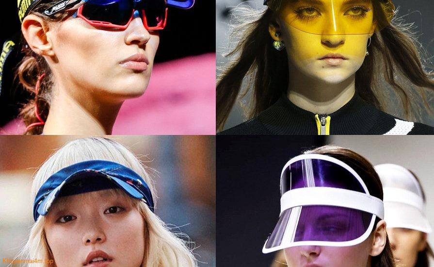 Mũ chống nắng nửa đầu đang là item hot trong mùa hè này