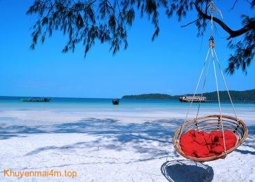 Những hòn đảo view cực đẹp khi đến Campuchia