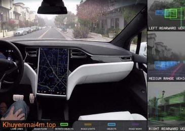Các dòng xe Tesla sẽ được cập nhật Autopilot với khả năng tự lái 100%