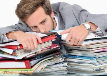 Những điều cần ghi nhớ khi bị quá tải vì công việc