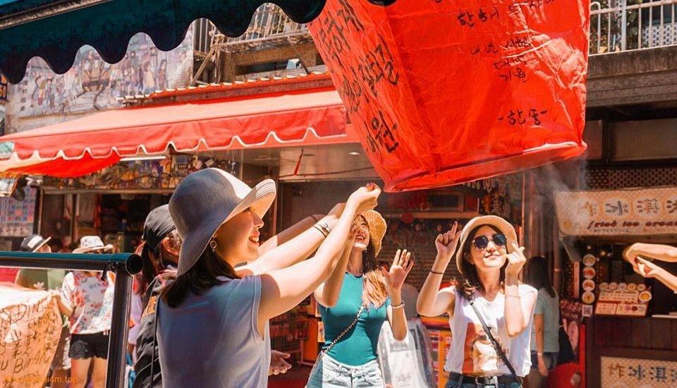 Làng cổ Thập Phần ở Đài Loan – điểm check-in sống ảo cực chất