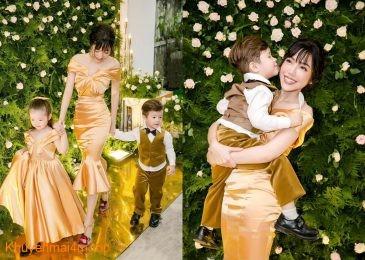 5 cặp mẹ con mặc đồng điệu và đẹp nhất của showbiz Việt