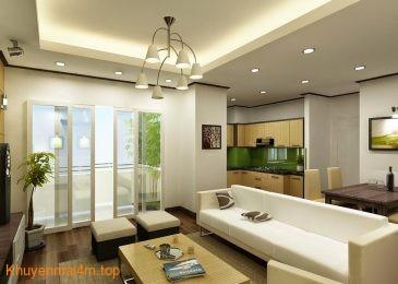 Nguyên tắc chung khi bài trí nội thất cho căn hộ chung cư