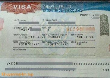 Hàn Quốc dừng cấp visa 5 năm cho du khách Việt Nam
