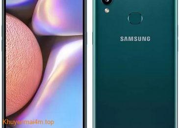 Galaxy A10s – Smartphone rẻ của Samsung pin lớn, bảo mật vân tay