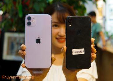 Chiêm ngưỡng iPhone 11 đọ dáng cùng iPhone XR