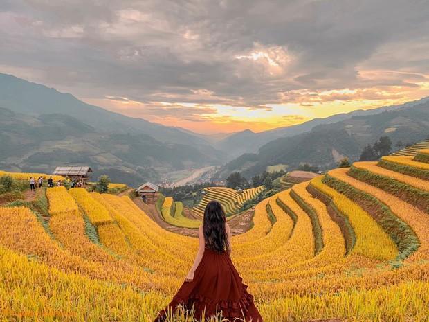 Lên Mù Cang Chải mùa lúa chín và bộ hình đẹp như mơ