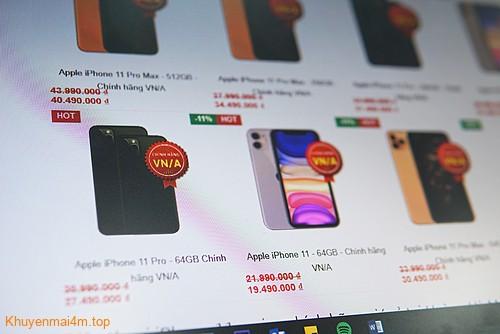 Dù chưa chính thức lên kệ tại VN nhưng iPhone 11 đã giảm giá