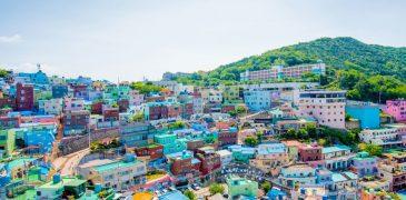 Những thành phố đông khách du lịch ghé thăm nhất ở Hàn Quốc