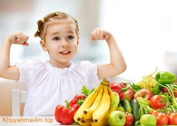 10 loại thực phẩm tăng đề kháng nCoV cho trẻ