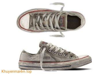 Giày cũ bẩn mốc của Converse gây tranh cãi