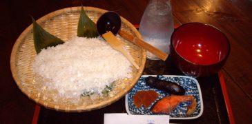 Cơm chan nước lạnh – món ngon đặc sản của người Nhật