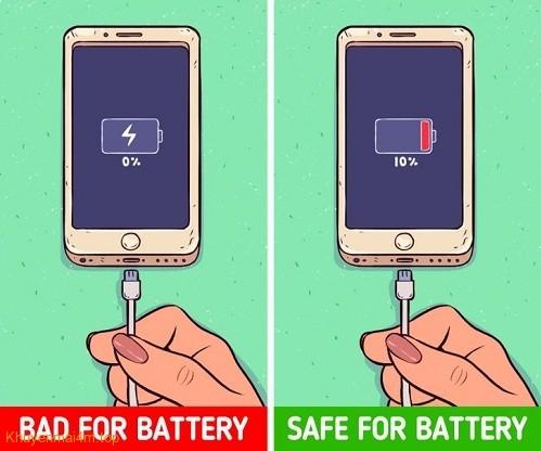 10 việc làm sai lầm khi sử dụng smartphone