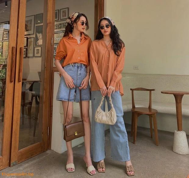 Đồ màu cam đất chuẩn Thu diện sao cho đẹp?