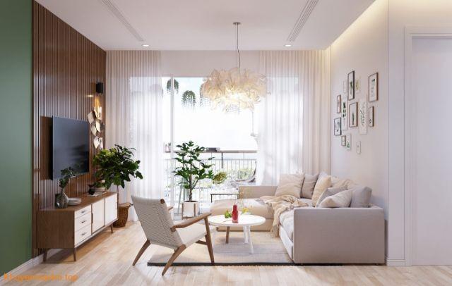 Demo thiết kế nội thất ngôi nhà 3 phòng ngủ