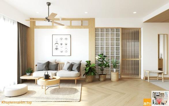 Japandi là sự kết hợp hài hòa giữa các yếu tố tự nhiên và nội thất hiện đại