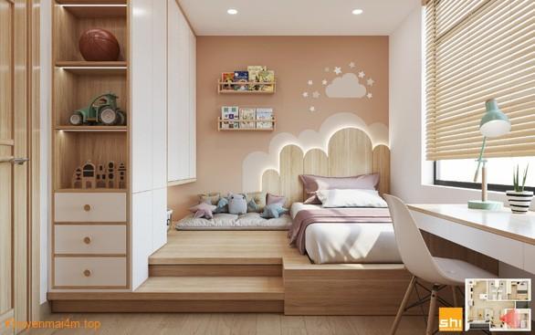 Chất liệu gỗ được biến hóa muôn màu muôn vẻ trong phong cách nội thất Japandi