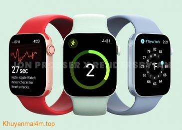 Apple Watch Series 7 có nhiều điểm giống iPhone 12
