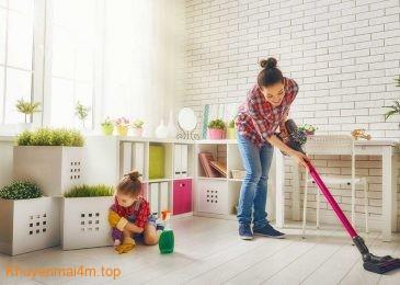 Mẹo giữ nhà cửa ngăn nắp, sạch sẽ khi có con nhỏ