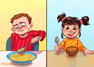 """Cách """"trị"""" trẻ biếng ăn của cha mẹ Nhật"""