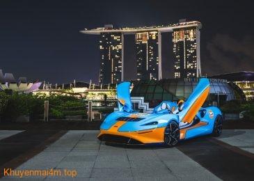 Mãn nhãn với hình ảnh McLaren Elva về Việt Nam